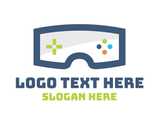 Gaming - Gaming Goggles logo design