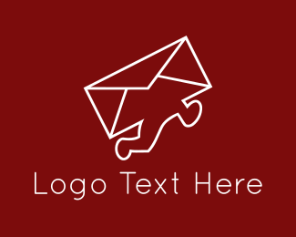 Post - Mail Courier logo design