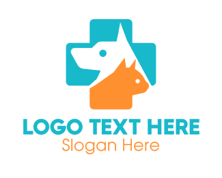 Animal Sanctuary - Cat Dog Vet logo design