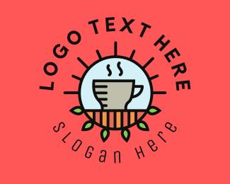 Espresso - Organic Cafe Coffee logo design