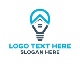 Realty - Home Lighting logo design