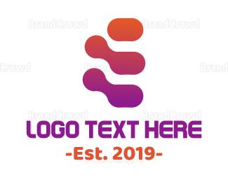 Science - Lava Bubbles logo design