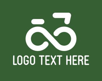 Loop - Infinite Bike logo design