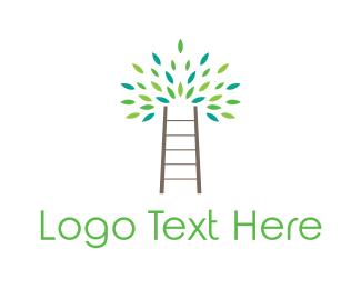 Ladder - Ladder Tree logo design