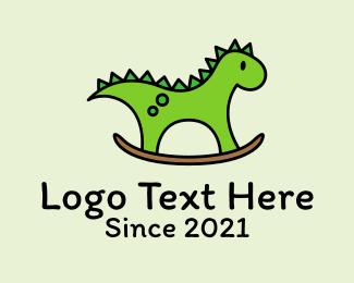 Preschool - Preschool Dinosaur Toy logo design