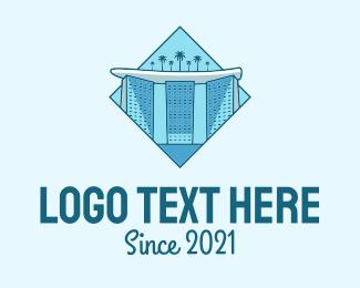 Singapore Building Landmark logo design