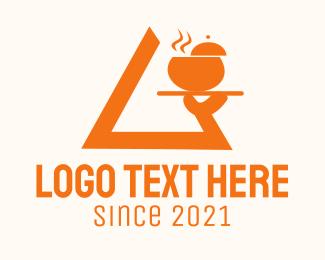 Orange Soup Restaurant  logo design