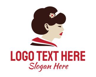 Profile - Pretty Woman Profile logo design