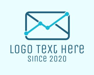 Mail - Mail Analytics logo design