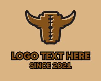 Rodeo - Razor Bull logo design