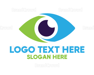 Evil Eye - Optical Eye Vision logo design