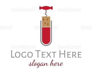 Science - Wine Science logo design