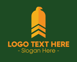 Military - Military Eagle logo design