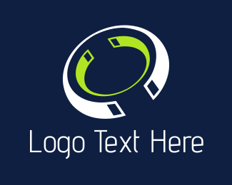 Electronic - Tech Rings logo design