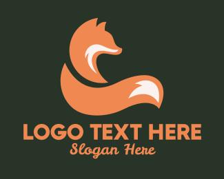 Coyote - Fox Tail logo design