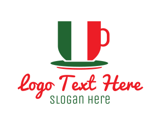 Rome - Italian Cafe logo design