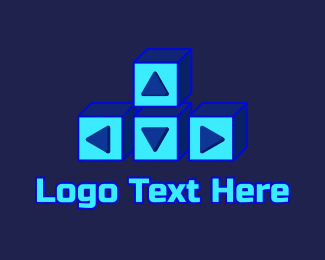 Gaming App - Gaming Keyboard  Arrow Keys logo design