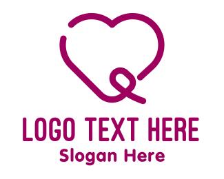 Orphanage - Heart & Swirl logo design