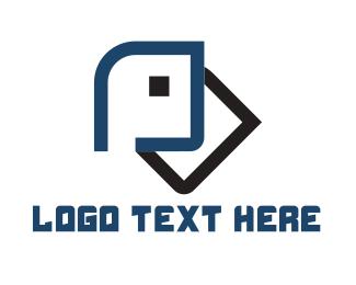 Abstract Head Logo