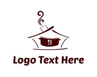 Hookah - Restaurant Pot logo design