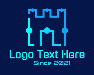 Gaming - Castle Tech Circle logo design