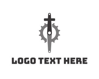 Pedal - Christian Cycling logo design