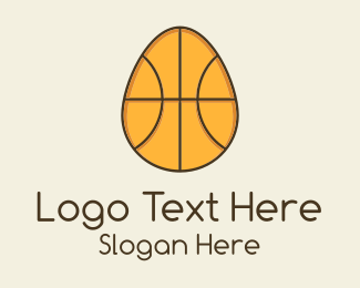 Activity - Egg Basketball logo design