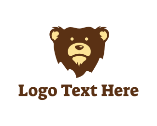 Brown Bear - Brown Bear Mascot logo design