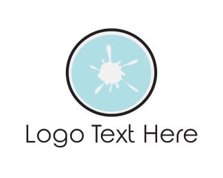 Ink - White Ink logo design