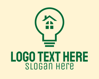 Eco Friendly - Eco Friendly Light Bulb logo design