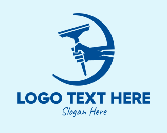 Disinfect - Strong Arm Cleaning  logo design