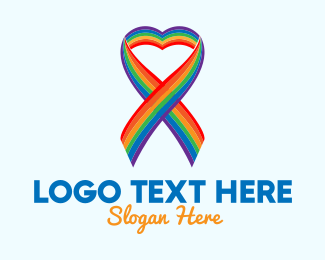 Gender Equality - Colorful Lovely Ribbon logo design