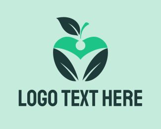 Weight Loss - Black Apple logo design