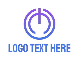 Power - Power Button logo design