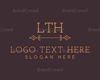 Traditional - Luxury Premium Traditional Serif Letter logo design
