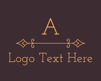Luxury Premium Traditional Serif Letter Logo