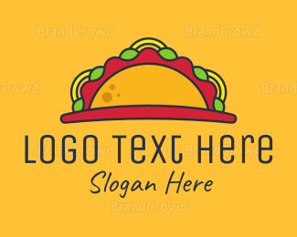 Food Truck - Taco Sunrise logo design