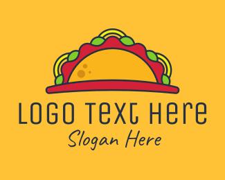 Hungry - Taco Mexican Restaurant logo design