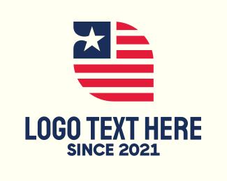 Liberia - Liberian Flag logo design