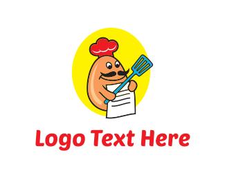 Chef - Egg Recipes logo design
