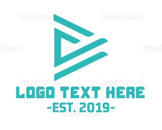 Video Player - Mint Media Player logo design