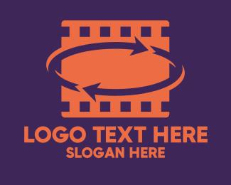 Review - Movie Review Reel logo design