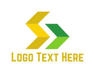 Bus Company - Right Arrow logo design