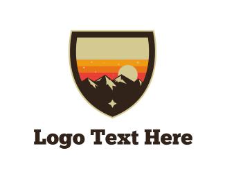 Sunrise - Sunset Landscape  logo design