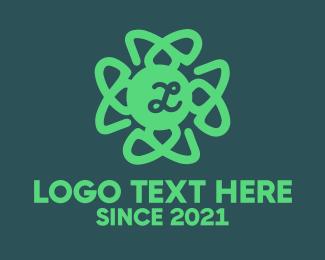 Outlines - Organic Lettermark logo design