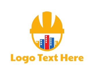 Contractor - Construction Helmet logo design