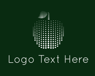 Website - Digital Apple logo design