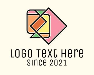 Art - Multicolor Geometric Art logo design
