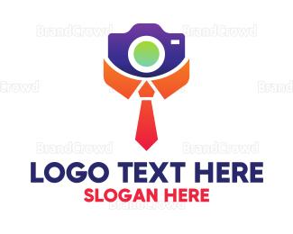 Collar - Collar Tie Photographer logo design