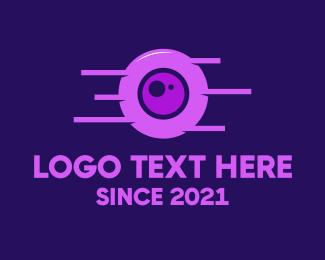 Droid - Robot Eye logo design